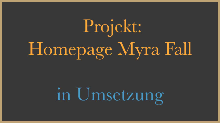 Homepage Myra Fall